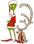The Grinch and Max by Kennon9