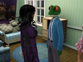Sims 3 - Morgana and the Toadification Spell by EpiclyAwesomePrussia