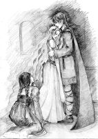 Tristan and Isolde sketch by SayuriMina