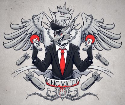 King Vicious by squeedgemonster