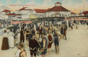 Vintage New Jersey - Down the Shore, 1915 by Yesterdays-Paper