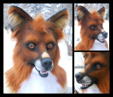 Redd Faux (SOLD) by KandorinCreations
