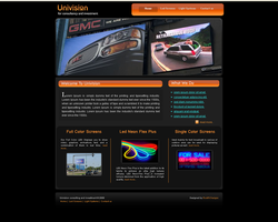 Univision Website page1-1 by safialex83