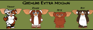 Gremlins - New Mogwais 4 - Scattered ones by TheCiemgeCorner