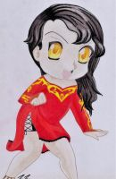 Chibi Cinder Fall by Terrathefox