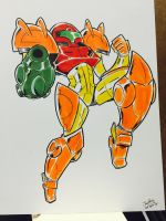 BIT FEST: Samus by Mr-DNA