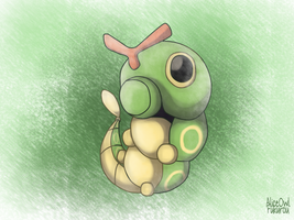 Caterpie by AliceOwl-Fukurou