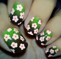 Floral Nails II by fractionVerse