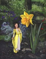 Spring Fairy by Garylovelace