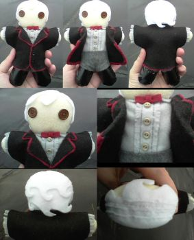 Third Doctor - Finished by PlushieOnTheSun