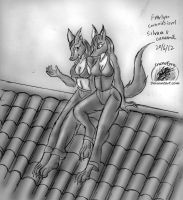 Commission: High places by Snowfyre