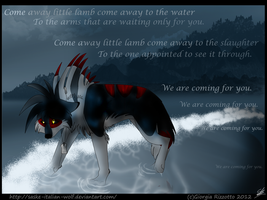 -Come away little lamb, come away- by Saske-Italian-Wolf
