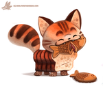 Daily Paint #1051. Taiyaki by Cryptid-Creations
