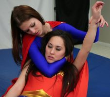 Classic Battles:  Wonder-Sumiko vs Super-Kelly #11 by sleeperkid