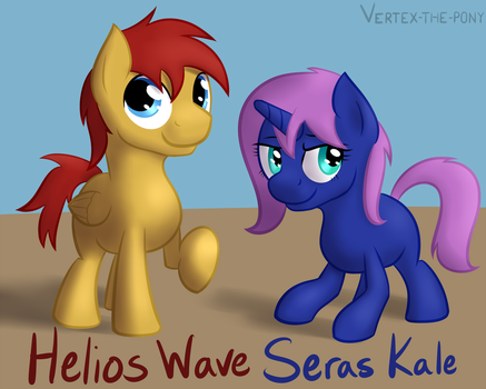 Helios Wave and Seras Kale by Rhyrs