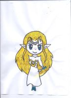 Quick Chibi Hylia by Zelink5