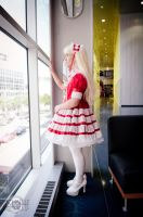 Red Lolita Dress 4 by loki555
