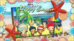 KuroBas - Happy Summer from Kiseki and Co. by xClerithFan1x