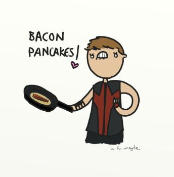 Bacon Pancakes by bababug