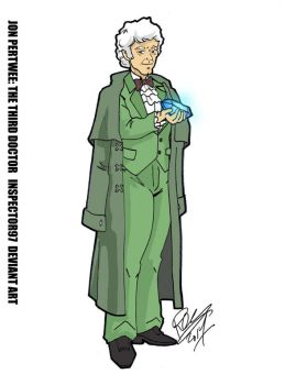 Jon Pertwee: The Third Doctor by Inspector97