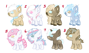 Breed Adopts - Fallen Snow x Sugar Plum [CLOSED] by li-Fae