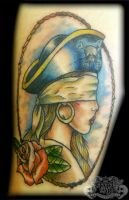 Pirate Lady by state-of-art-tattoo