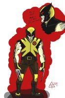 wolverine redesign 2 by toekneearrows