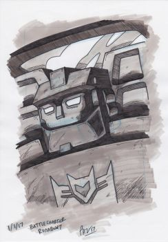 Decepticon Battle Charger Runabout by PeterHammerson