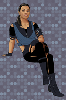 Freema Agyeman, Time Agent by Girl-on-the-Moon