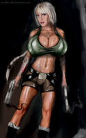 Duchess Dani The Xtra Large Tombraider by mishai by zenx007