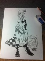 Comission: Tank Girl by QuetzalRevolver