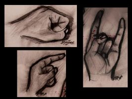 My Hands. hand Drawn by dylanjones