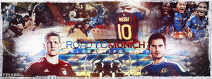 Chelsea, Road To Munich 2012 by kekkoART