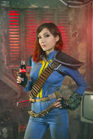 Fallout cosplay - Nuka Cola by atomic-cocktail