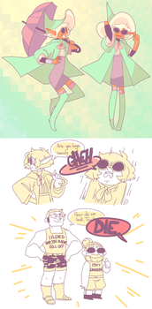 THE ADVENTURE BOYS PT 2 by peabugs