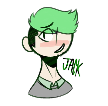 Jacksepticeye [Redraw] by The-Most-Melancholy