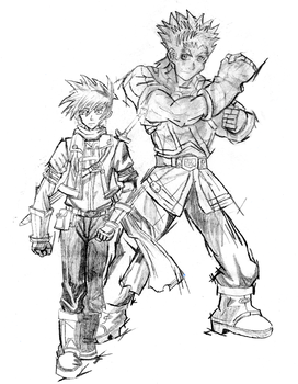 Golden sun fan art by Neku17