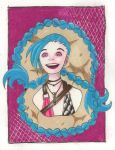 Jinx - League of Legends by NerdyAnimeFreak