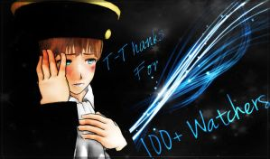 Thank you for 100 Watchers by Holy-Rome