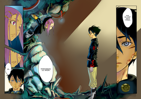 Eureka 7 manga coloring by Dashkentus