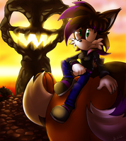 Pumpkin Hill Commission by ScittyKitty
