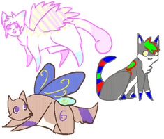 Don't mind me, just some chibis- Gift Art by Little-Volii