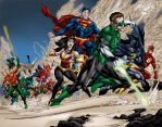 DC Drawing the Line by MarcBourcier