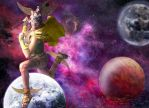 Mars - God of Communications by cazcastalla