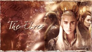 The Elves wallpaper by HappinessIsMusic