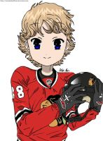 Patrick Kane colored by ZIMandShufflefan