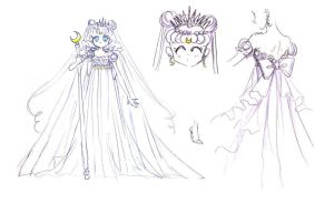 Materials Artbook Moon Princess Serenity by Moon-Shadow-1985