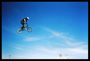 bmx in lomo by iamshutterhappy