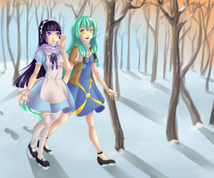 PoP: A walk on Valentine's day by nuxi-chan