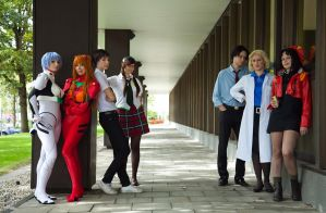 Evangelion Group by Nandeena